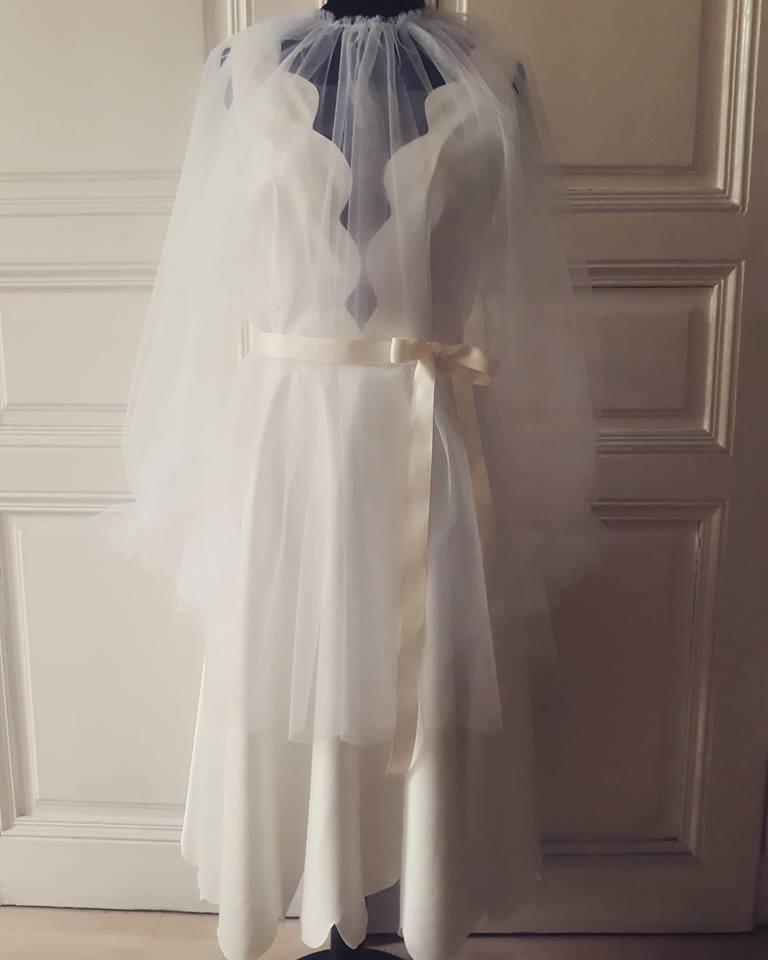 Kratke vjenčanice- romantična mladenka